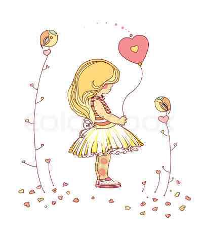 4588834-836103-little-girl-the-little-girl-with-a-balloon-raster-illustration