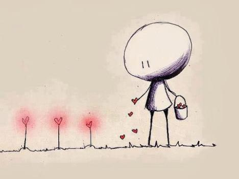 Yesterday is gone and its tale told. today new seeds are growing