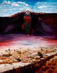 لوحة مميزة للفنان سلام كنعان