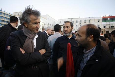BHL en Libye